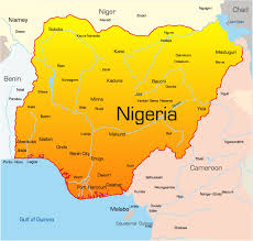 map of nigeria africa nigeria map showing attractions accommodation
