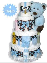unique baby shower gift diaper cakes