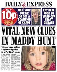Daily Express News Desk Madeleine Mccann Anorak