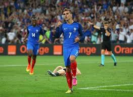 what is meaning of antoine griezmann goal celebration against