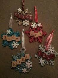 40 ornaments scrabble ornaments ornaments