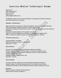 Nuclear Medicine Technologist Resume Examples by Medical Technology Resume Virtren Com