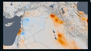 middle east map changes nasa satellite images show how polluted your country is cnn