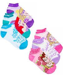 disney princess no show socks 6 pack 4 6x big