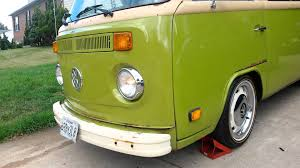 volkswagen bus front 1979 vw bus left front side reflectors as running lights turn