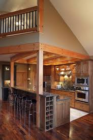 Kitchen Cabinet Designs For Small Kitchens by Unique Small Cabin Kitchen Design Log Home And Decor