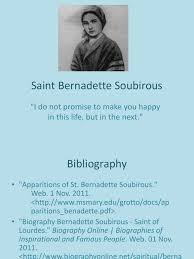 biography of famous persons pdf saint bernadette soubirous roman catholic devotions catholic