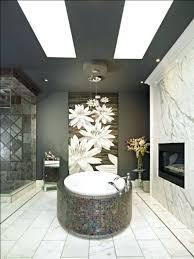 bathroom decor ideas wall art fireplace flower vase pendant