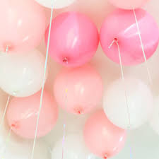 50pcs 2 2g light pink latex helium balloons pink color baby
