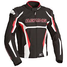 leather motorcycle accessories bering history jacket leather jackets black men s clothing bering