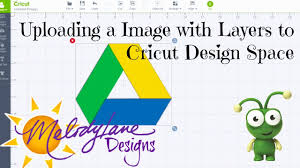 upload an image with layers to cricut design space youtube