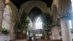 wedding flowers church get an inside look at pippa middleton s wedding flowers see the