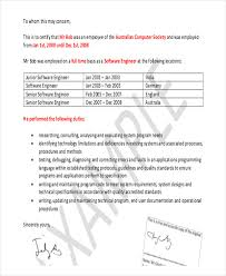 7 formal reference letter templates free word pdf format