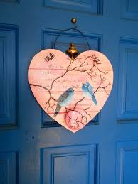 wooden bird wall decor dictionary print bird collage box