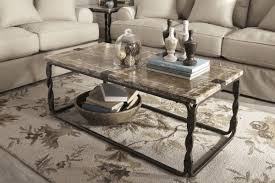 what to put on a glass coffee table