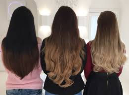ombre clip in hair extensions foxy locks ombre shades