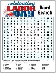 labor day word printable coloring pages free 23120