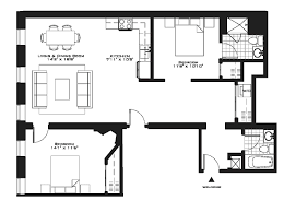 floor plan and elevation of a bungalow house laferida com