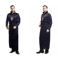 halloween costume masquerade performance apparel cosplay priest