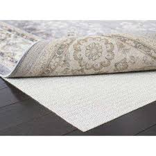 rug padding u0026 grippers rugs the home depot