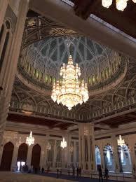 Sultan Qaboos Grand Mosque Chandelier Main Hall At Sultan Qaboos Mosque Picture Of Sultan Qaboos Grand