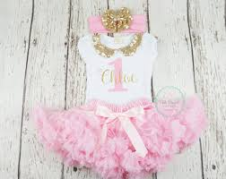 1st birthday girl birthday girl 1st birthday pink and gold