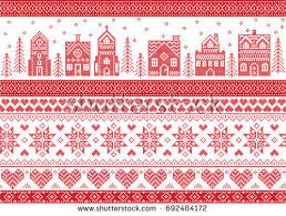 christmas pattern white christmas pattern free vector stock