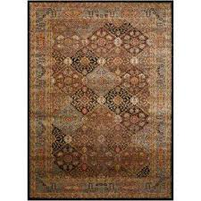 Chocolate Area Rug Border Brown Area Rugs Rugs The Home Depot