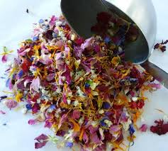 real petals flower petals dried flowers wedding confetti tossing flowers