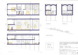 Cote D Azur Floor Plan by Le Corbusier Roq Et Rob Roquebrune Cap Martin France 1949