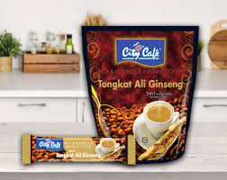 Kopi Tongkat Ali Ginseng Coffee city cafe citycaf礬 5 in 1 tongkat ali ginseng instant coffeemix