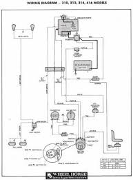 toro wheel horse 312 wiring diagram wiring diagrams