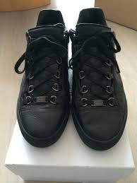 balenciaga arena black low top size 42 for sale kanye west forum
