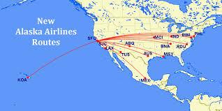 Alaska Airlines Map by Alaska Airlines Announces Plans To Grow San Francisco Bay Area