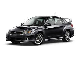 black subaru 2011 subaru impreza wrx sti black 4 door front and side