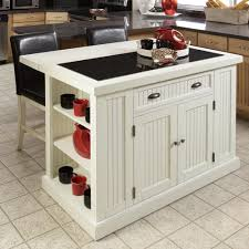 home styles kitchen islands home styles nantucket distressed white kitchen island with stools