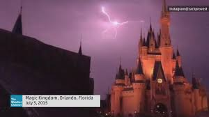 Orlando Weather Map by Video Magical Lightning In Orlando Florida