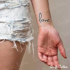 temporary tattoos small arm
