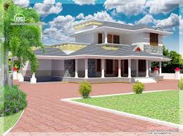 feet double floor house elevation kerala home design plans
