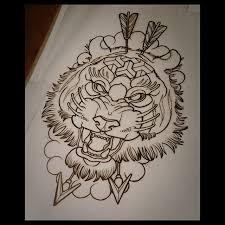 arrow tiger design best ideas gallery