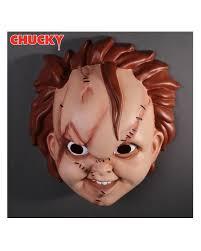 chucky mask chucky half mask chucky 4 memorabilia horror shop