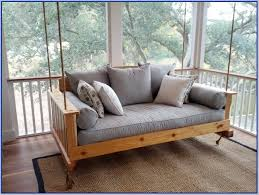 hanging daybed swing plans home design ideas
