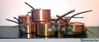 vendre cuisine occasion 399665169 3 magnifique batterie de cuisine en cuivre a vendre