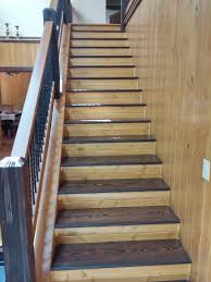 Sanding Banister Staining Wood Stairs And Railings In North Carolina Homes Do You