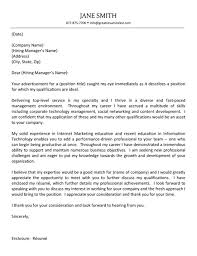 Cover Letter How To Write Cover Letter Monash   Education Qld