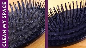 Best Way To Clean Up Hair In Bathroom How To Clean Your Hairbrush A Minute To Clean Youtube