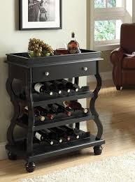 fancy wooden wine racks rack t shirt furniture miller valley bar