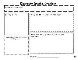 writing a biography graphic organizer biography graphic organizer planning stage of writing graphic