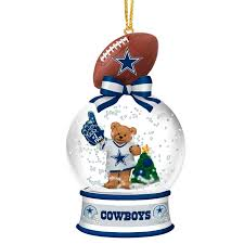 dallas cowboys snow globe ornaments your 1st one is free the