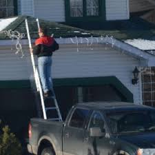 how to put christmas lights on your car practice ladder safety when hanging christmas lights workforce